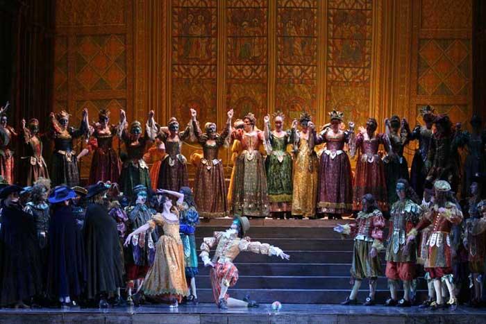 opera Un ballo in maschera libretto English Italian