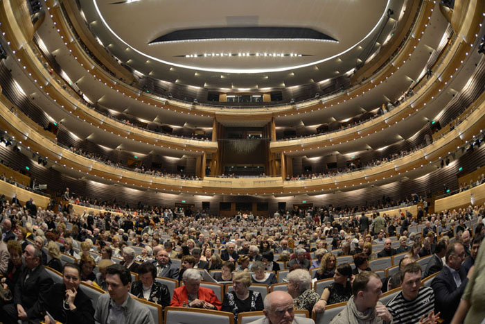 mariinsky 2 new ballet and opera theatre st petersburg russia